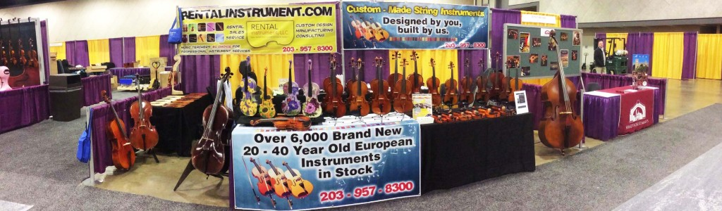 national association of music merchants convention booth