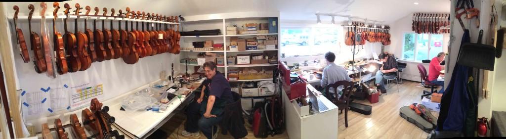 violin repair facility in norwalk